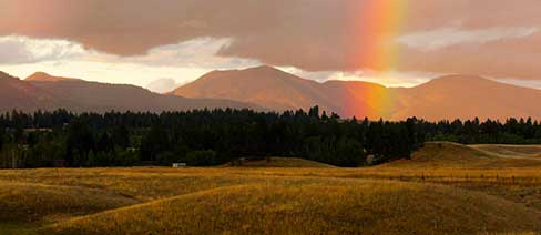 Blackfoot River Valley, Montana ©Robb Kendrick